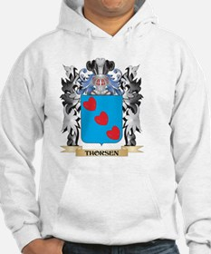 Thorsen Coat of Arms - Family Cr Hoodie