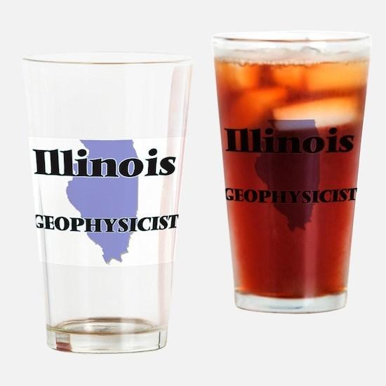 Illinois Geophysicist Drinking Glass