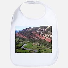 Near Durango, Colorado, from the air Bib