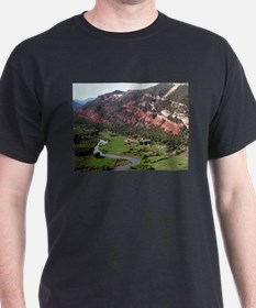 Near Durango, Colorado, from the air T-Shirt