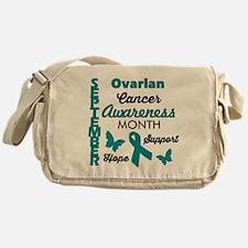 Childhood Cancer Awareness Messenger Bag