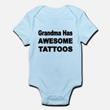 Grandma has AWESOME TATTOOS Body Suit