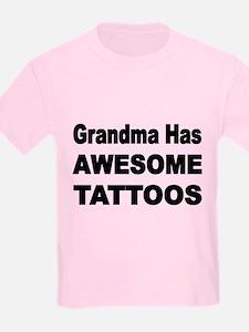Grandma Has Awesome Tattoos T-Shirt