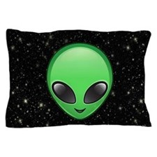 alien emojis Pillow Case