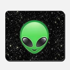 alien emojis Mousepad
