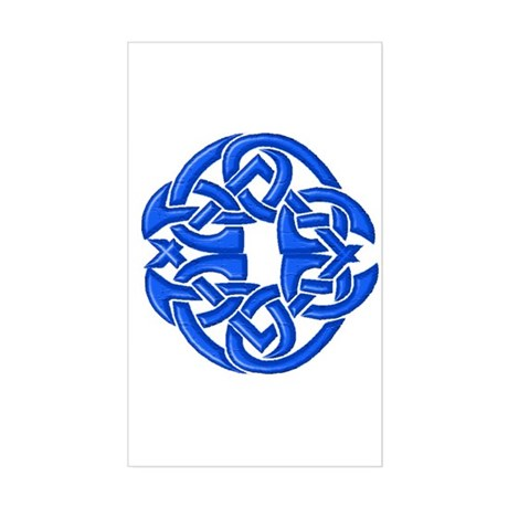 Celtic Knot 91 Rectangle Sticker