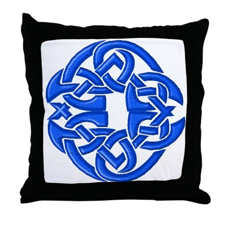 Celtic Knot 91 Throw Pillow