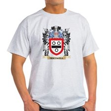 Tideswell Coat of Arms - Family Crest T-Shirt