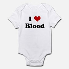 I Love Blood Infant Bodysuit