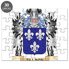 Tillmon Coat of Arms - Family Crest Puzzle