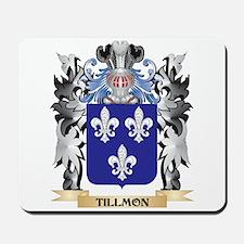 Tillmon Coat of Arms - Family Crest Mousepad