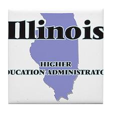 Illinois Higher Education Administrat Tile Coaster