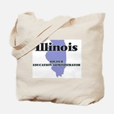 Illinois Higher Education Administrator Tote Bag