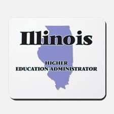 Illinois Higher Education Administrator Mousepad