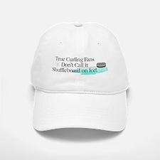 Curling Slogan Baseball Baseball Cap