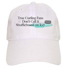 TOP Curling Slogan Baseball Cap