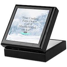 TOP Curling Slogan Keepsake Box