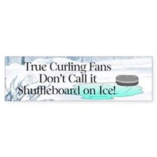 TOP Curling Slogan Bumper Bumper Sticker