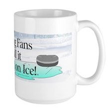TOP Curling Slogan Mug
