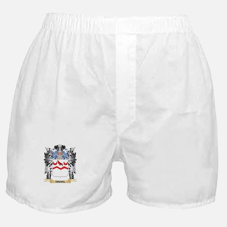 Tindel Coat of Arms - Family Crest Boxer Shorts