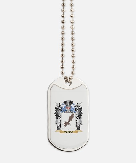 Tobias Coat of Arms - Family Crest Dog Tags