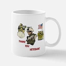 Thank You Veterans Mug Mugs