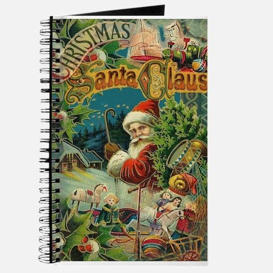 Christmas Santa Claus Antique Vintage Victorian Jo