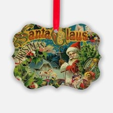 Christmas Santa Claus Antique Vintage Victorian Or