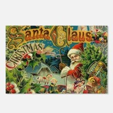 Christmas Santa Claus Antique Vintage Victorian Po