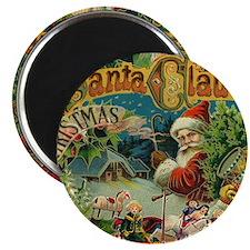 Christmas Santa Claus Antique Vintage Victorian Ma