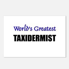 Worlds Greatest TAXIDERMIST Postcards (Package of