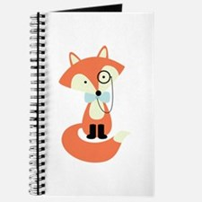 Funny Cute fox Journal