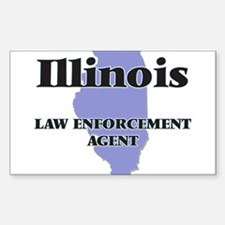 Illinois Law Enforcement Agent Decal