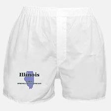 Illinois Lawn Sprinkler Technician Boxer Shorts