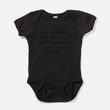 Cute Parents humor Baby Bodysuit