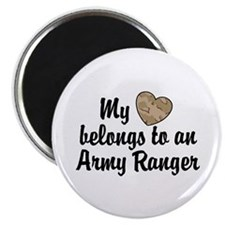 My Heart Belongs To an Army Ranger Magnet
