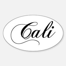 Cali Oval Decal