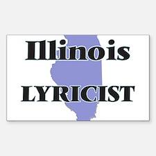 Illinois Lyricist Decal