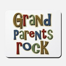 Grandparents Rock Day Holiday Mousepad