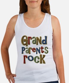 Grandparents Rock Day Holiday Women's Tank Top