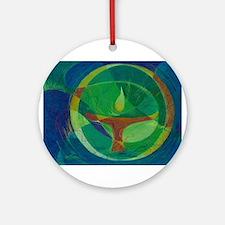 Let It Shine - UU Round Ornament