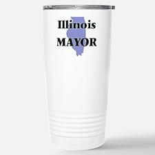 Illinois Mayor Travel Mug