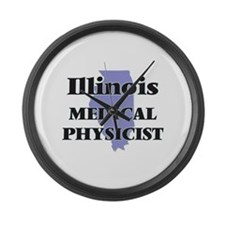 Illinois Medical Physicist Large Wall Clock