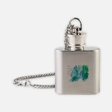 Rumi Tranquil Mountains Flask Necklace