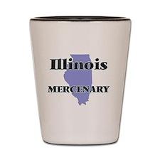Illinois Mercenary Shot Glass