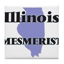 Illinois Mesmerist Tile Coaster