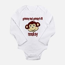 Unique Grandpa family and baby Long Sleeve Infant Bodysuit