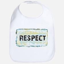 Respect Scratch Design Bib
