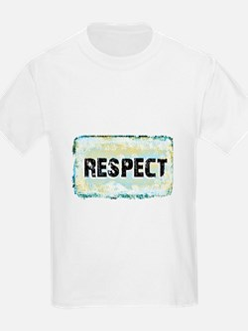Respect Scratch Design T-Shirt