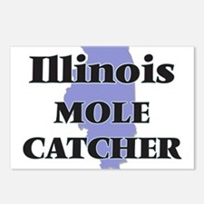 Illinois Mole Catcher Postcards (Package of 8)